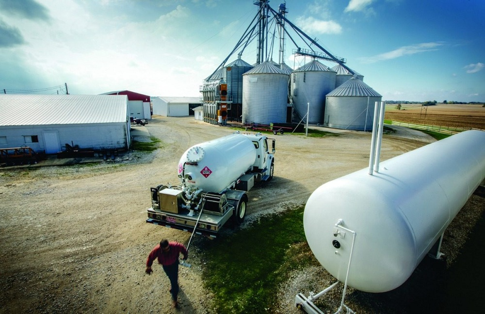 Nowe zbiorniki na gaz